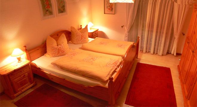 Familienurlaub in der rh n ferienwohnung sch n - Panoramabild schlafzimmer ...